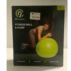 Champion fitness ball and pump